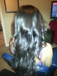 braidless sew in and style